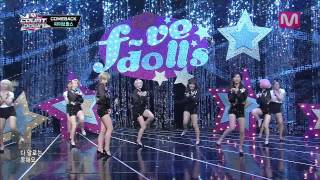 getlinkyoutube.com-파이브돌스_짝1호 (1st Soulmate by F-VE DOLLS@M COUNTDOWN 2013.8.1)