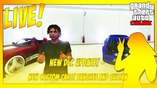 getlinkyoutube.com-GTA 5 NEW DLC UPDATE! - NEW CUSTOM CARS! BANSHEE AND SULTAN