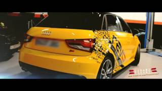 getlinkyoutube.com-Audi S1  Quattro Stage 2  by REVO Performance /// Dreams Visual