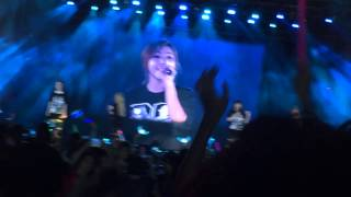 getlinkyoutube.com-[Fancam] 140802 2NE1 - Lonely @ Galaxy Stage in Myanmar