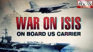 getlinkyoutube.com-War Against ISIS: On Board The USS Carl Vinson