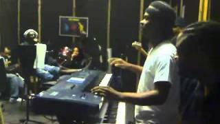 Buju banton en studio