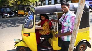 getlinkyoutube.com-Sarah Drives an Auto Rickshaw