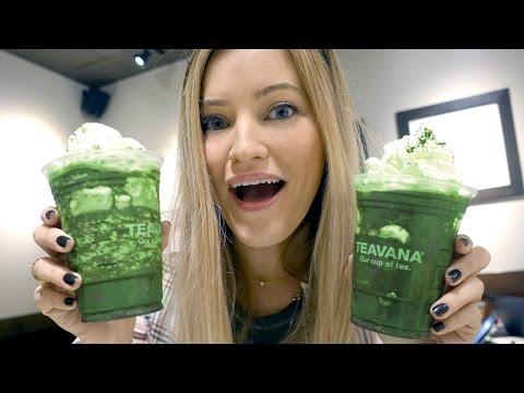 New Starbucks Drink! Midnight Mint Mocha Frappuccino!