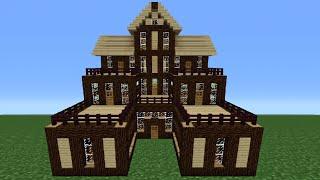 getlinkyoutube.com-Minecraft Tutorial: How To Make A Wooden House - 6