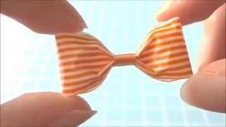 getlinkyoutube.com-マスキングテープでりぼんの作り方♪