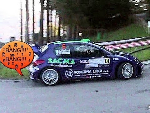 LOUD Anti-Lag &amp; Backfires SOUND!! 206 WRC, Delta HF Integrale, Clio R3, LP600 GT3 &amp; More