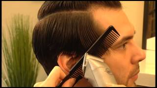 getlinkyoutube.com-How to cut Long Men's Haircut, Scissors + Clippers