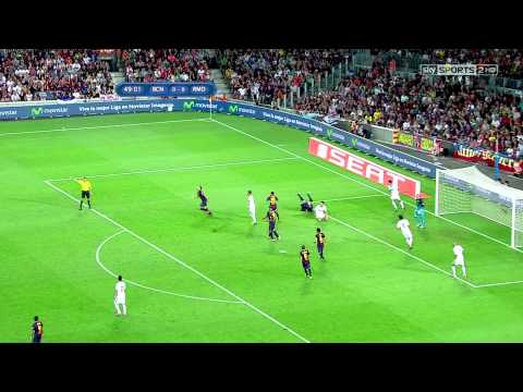 Cristiano Ronaldo Vs Barcelona Away 12-13 HD 1080i - Spanish Super Cup Final Leg 1 By TheSeb
