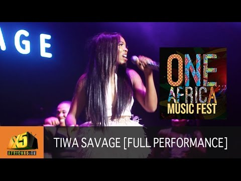 ONE AFRICA MUSIC FEST 2017 | Tiwa Savage [Full Performance]