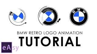 getlinkyoutube.com-BMW retro logo animation | Easy After Effects tutorial