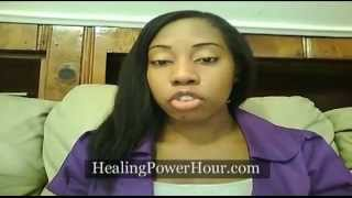 getlinkyoutube.com-My Ovarian Cysts and Fibroid are GONE!
