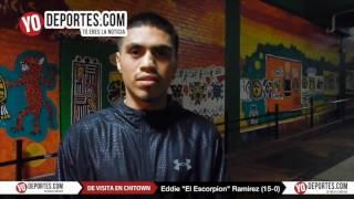 Eddie El Escorpion Ramirez veneno a domicilio y sigue invicto 15-0