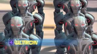 getlinkyoutube.com-Disney Infinity 3.0 - Marvel Battlegrounds Play Set footage