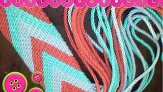 getlinkyoutube.com-Ply-Split Gasa fajon tipo Wayuu