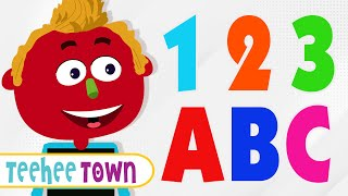 getlinkyoutube.com-ABC Songs | 12 ABC Alphabet Songs | Colors Songs | Shapes Songs | Numbers Song by Teehee Town