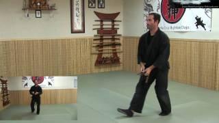 getlinkyoutube.com-Ninjutsu - Throwing Knives - Ninja Training Free Videos - Ninjutsu weapons