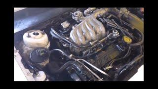 getlinkyoutube.com-Cambio de junta de cabeza Ford 3.0 V6 Head Gasket Replacement
