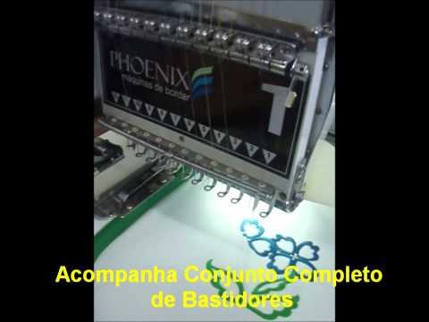 PHOENIX - MÁQUINA DE BORDAR INDUSTRIAL 1 CABEÇA