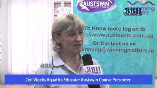 Ceri Weeks Austswim Course Presenter