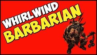 getlinkyoutube.com-Diablo 3 Whirlwind Barb Speed Build Season 9 Patch 2.4.3
