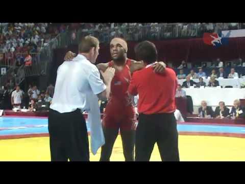 Jordan Burroughs World Finals - Matside Angle