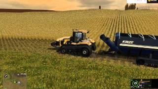 getlinkyoutube.com-Farming Simulator 2015: Windchaser Soybean Harvest