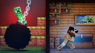 "getlinkyoutube.com-♫ ""Wrecking Mob"" - A Minecraft Parody of Miley Cyrus' Wrecking Ball"