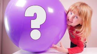 BALLON SURPRISE • Athena gonfle ce ballon plein de surprises - Studio Bubble Tea unboxing