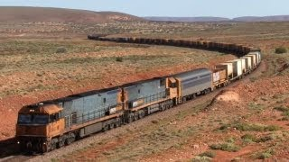 getlinkyoutube.com-Railways of South Australia - Peterborough, Pt Augusta and Trans Australia line