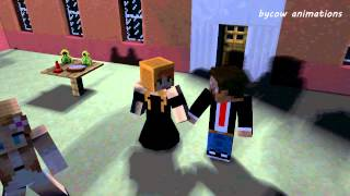 Steve and Alex Minecraft Love Story: Prom - Minecraft Animation