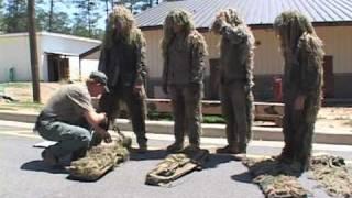 getlinkyoutube.com-Sniper School at Fort Benning: Ghillie Suit