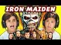 KIDS REACT TO IRON MAIDEN Metal Music