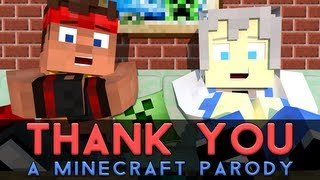 "getlinkyoutube.com-♫ ""Thank You!"" - A Minecraft Parody of MKTO's Thank You (Music Video)"
