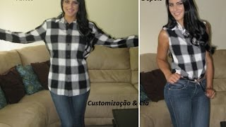 getlinkyoutube.com-Customizando camisa masculina by Customização & Cia