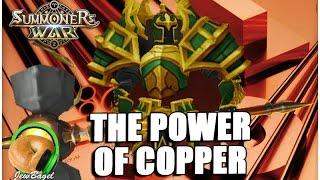 getlinkyoutube.com-SUMMONERS WAR : The Power of Copper (Wind Living Armor)