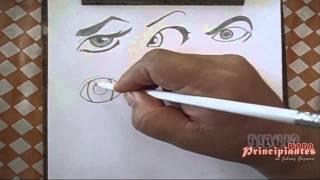 getlinkyoutube.com-15 DIBUJO PARA PRINCIPIANTES Dibujando ojos