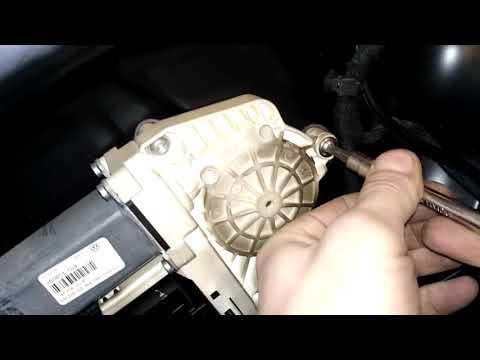 Что делать?Если стекло не опускается  заклинило и оборван трос стеклоподьемника VW PASSAT B6,B7!!!