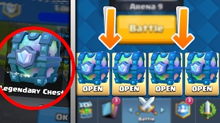 getlinkyoutube.com-4 Ways to Get a LEGENDARY CHEST in Clash Royale!