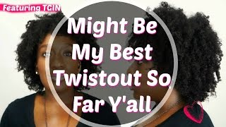 getlinkyoutube.com-How To--Best Damn Twist Out Hairstyle on 4c Natural Hair