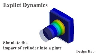 Explict analysis using ansys for biggners -Part-1(ANSYS Tutorial)