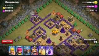 getlinkyoutube.com-clash of clans how to beat mega mansion with barch (TH8)