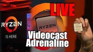 Videocast Adrenaline LIVE!