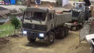 Mercedes SK heavy haulage climbing the hill
