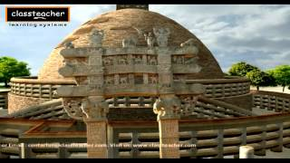 "getlinkyoutube.com-""Stupa"" - Ancient Indian History Madhya Pradesh (Khajuraho) 