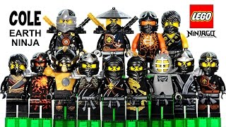 getlinkyoutube.com-LEGO® Ninjago Cole the Black Ninja of Earth 2015 Minifigure Ultimate Collection