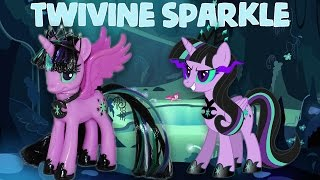 getlinkyoutube.com-Custom TWIVINE SPARKLE || TWILIGHT SPARKLE'S EVIL TWIN MLP My Little Pony Tutorial