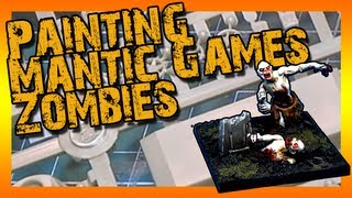 getlinkyoutube.com-Painting Zombies from Mantic Games