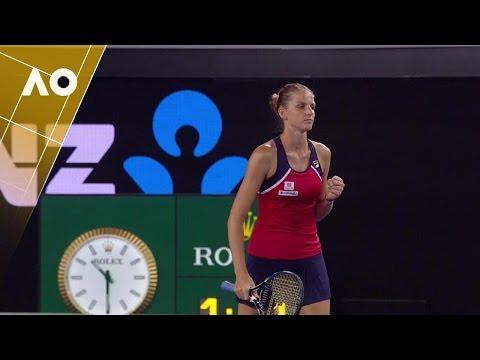 Karolina Pliskova on dealing with expectations   Australian Open 2017