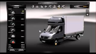 getlinkyoutube.com-ETS2 Mercedes Sprinter. Link w opisie.